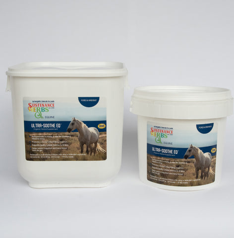 sustenance herbs for pets  ultra soothe eq for natural horse care