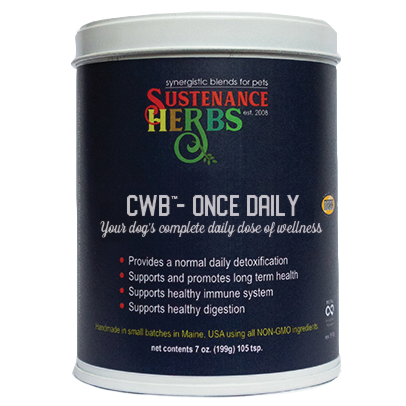 CWB™-Once Daily, your dog's complete daily dose of wellness