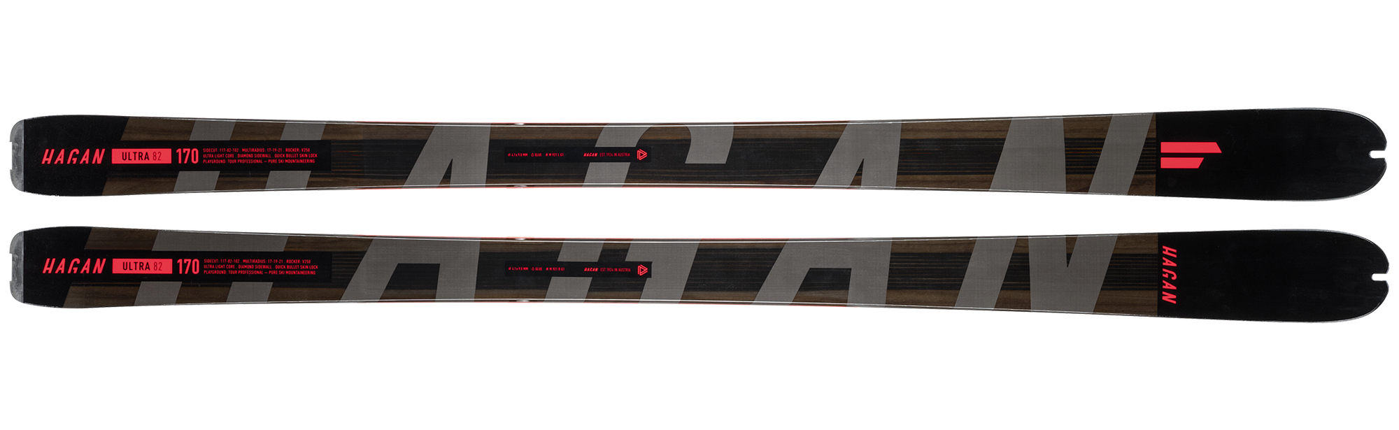 Hagan Ultra 82 alpine ski touring ski