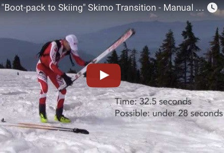 """Boot-pack to Skiing"" Skimo Transition - Manual for Ski Mountaineering Racing"