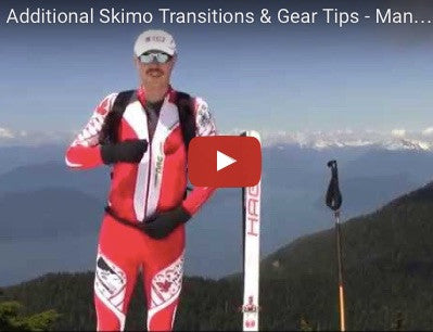 Additional Skimo Transitions & Gear Tips - Manual for Ski Mountaineering Racing
