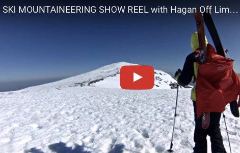 SKI MOUNTAINEERING SHOW REEL with Hagan Off Limit skis