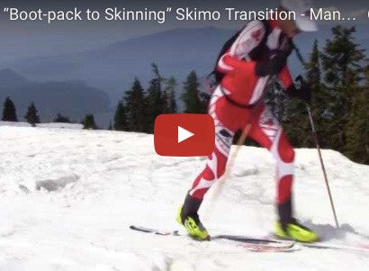 """Boot-pack to Skinning"" Skimo Transition - Manual for Ski Mountaineering Racing"