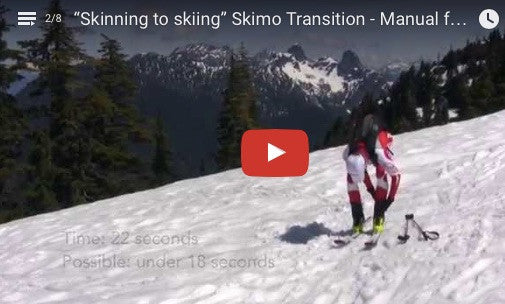 """Skinning to skiing"" Skimo Transition - Manual for Ski Mountaineering Racing"