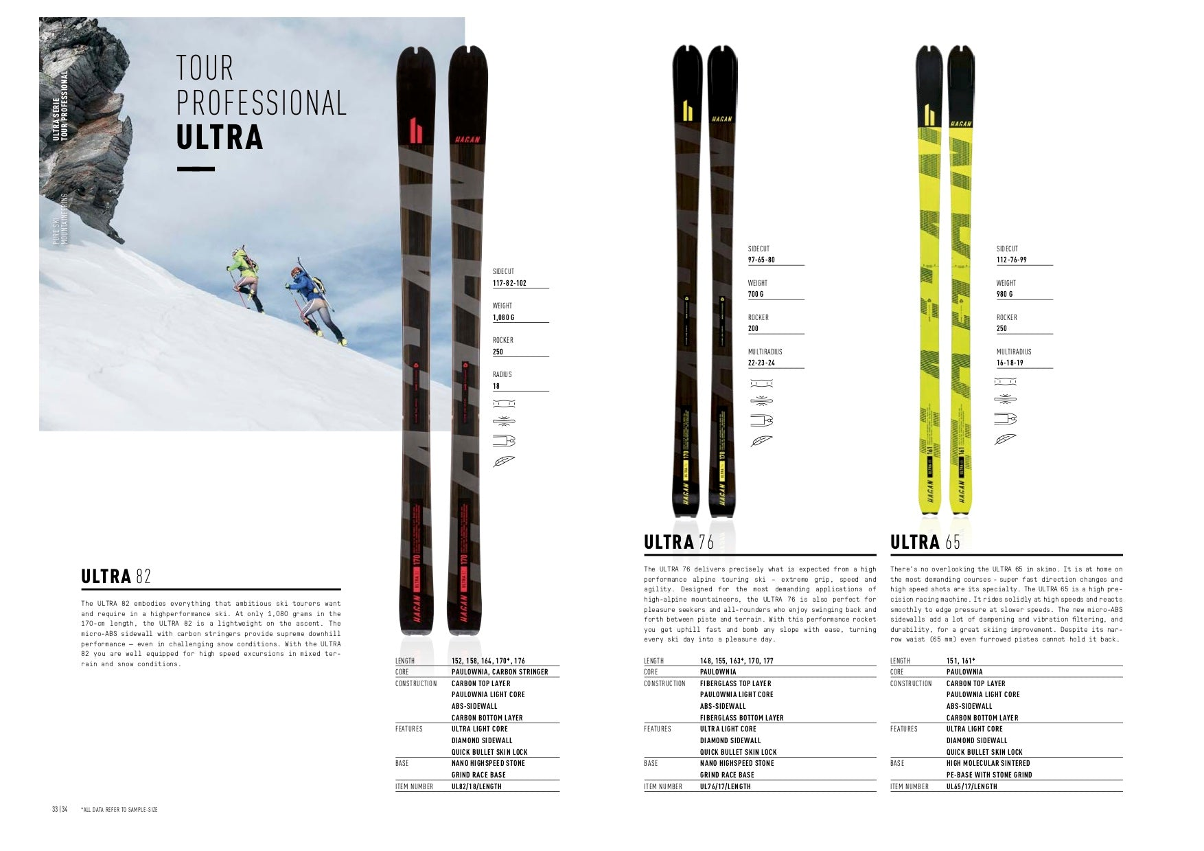 Ultra Series Skis