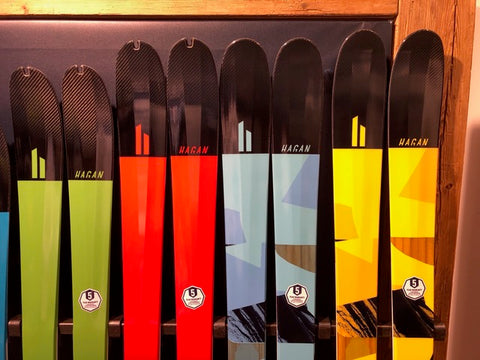 Hagan Core and Boost series alpine touring skis