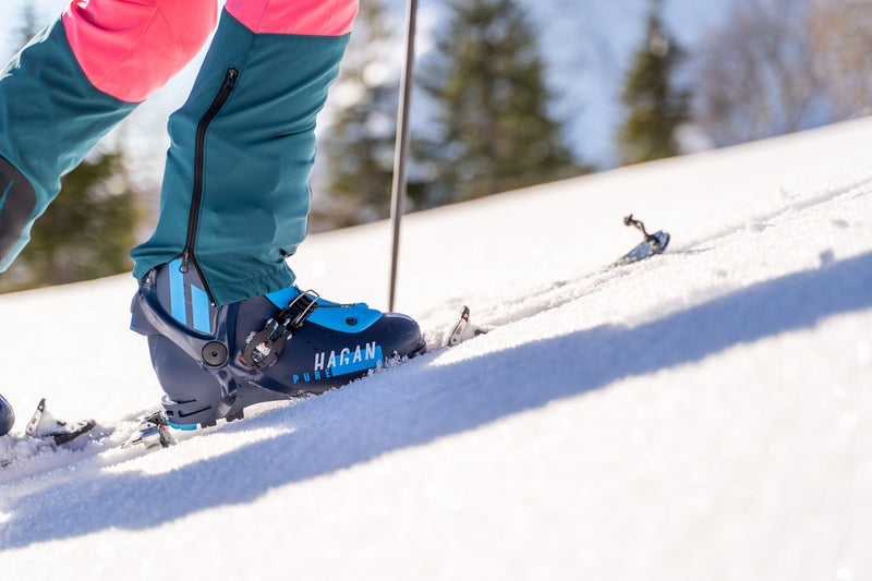 Hagan Pure alpine touring binding and Pure 10 ski touring binding