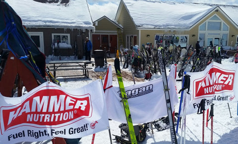 Hagan Race Skis at the Bromley NE Rando Race Series skimo race