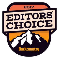 Backcountry Magazine 2017 Editors' Choice Award selectee