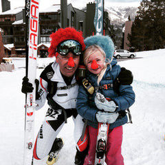 Hagen family at the SIA Outdoor Demo Skimo race