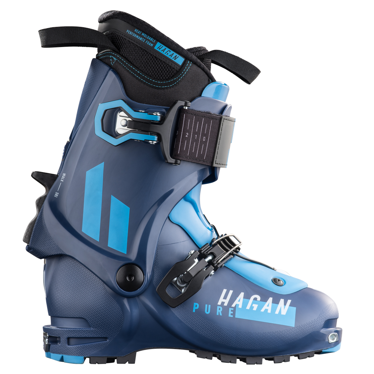 Hagan Pure W Women's alpine touring backcountry skiing boot for ski mountaineering