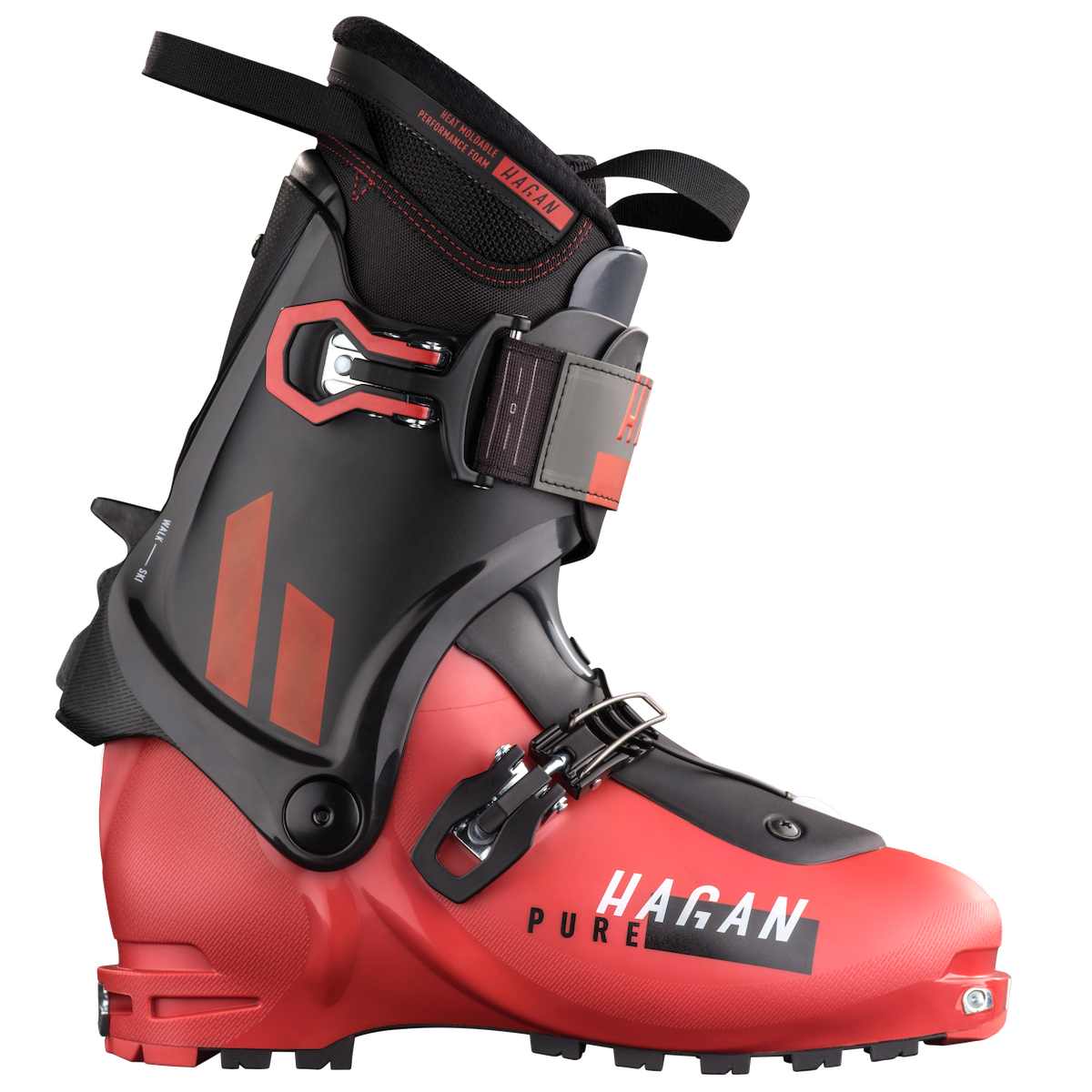 Hagan Pure Men's alpine touring backcountry skiing boot for ski mountaineering