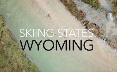 Skiing States Wyoming, Gannett Peak, part of the Treasured Heights Project