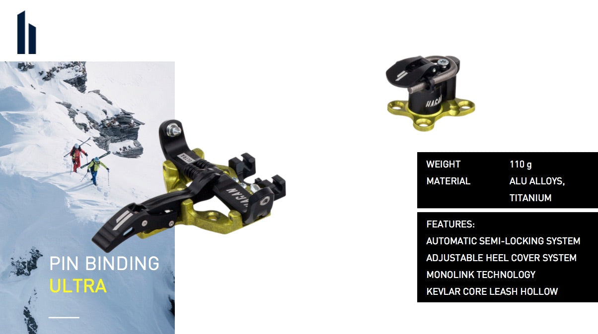Hagan Ultra alpine touring backcountry ski binding
