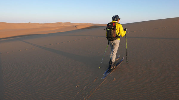 Here is a recent conversation that started asking how the Hagan Off Limits compares to the Altai Hok (no comparison). In the last paragraph there is a question about sand skiing with the Hagan X-Trace Pivot binding