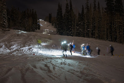 Night Skimo Race