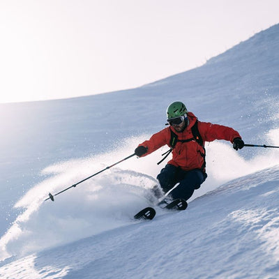 Freeriding with Hagan Ski Mountaineering Boost 99 Freeride alpine ski touring ski - award winner Backcountry Magazine Editor's Choice