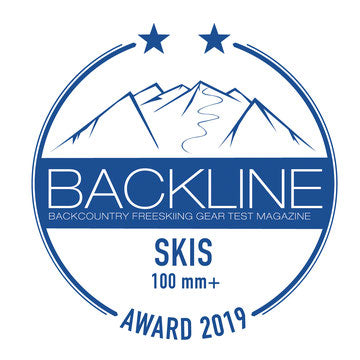 Hagan Ski Mountaineering Boost 99 Freeride alpine ski touring ski - award winner Backcountry Magazine Editor's Choice - Backline Test Winner