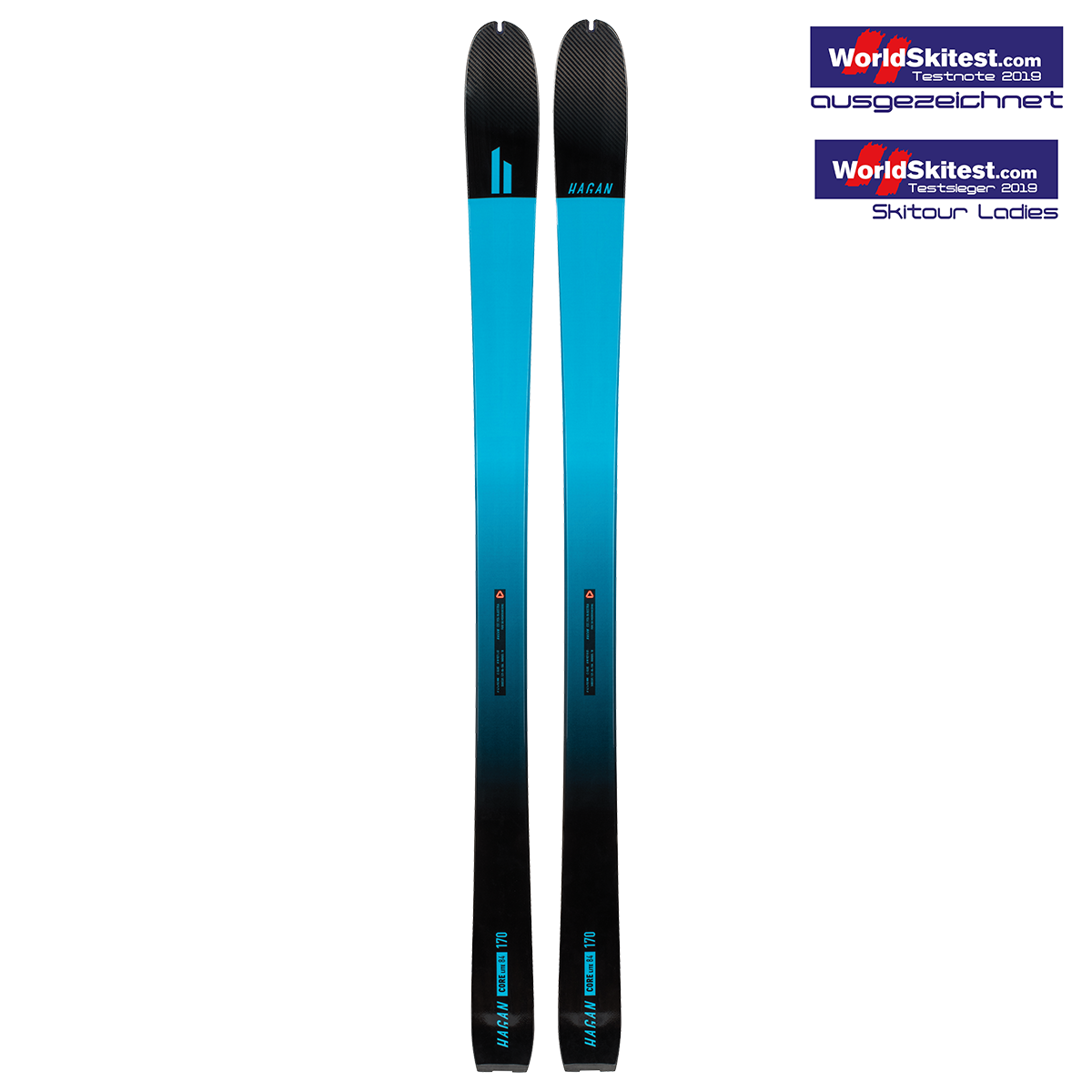 Hagan Ski Mountaineering Core 84 Lite all-mountain alpine ski touring ski - award winner
