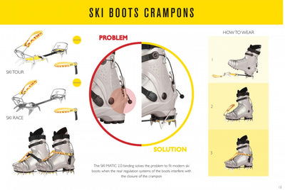 Grivel SkiMatic 2.0 crampons, Accessories - Hagan Ski Mountaineering