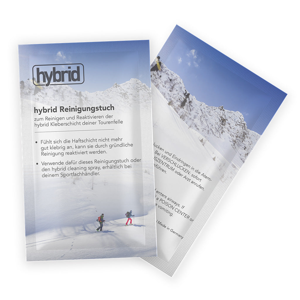 Contour Hybrid Cleaning Wipes, Accessories - Hagan Ski Mountaineering