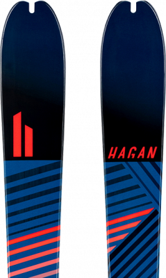 Ride 75, Skis - Hagan Ski Mountaineering