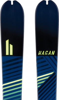 Ride 83, Skis - Hagan Ski Mountaineering