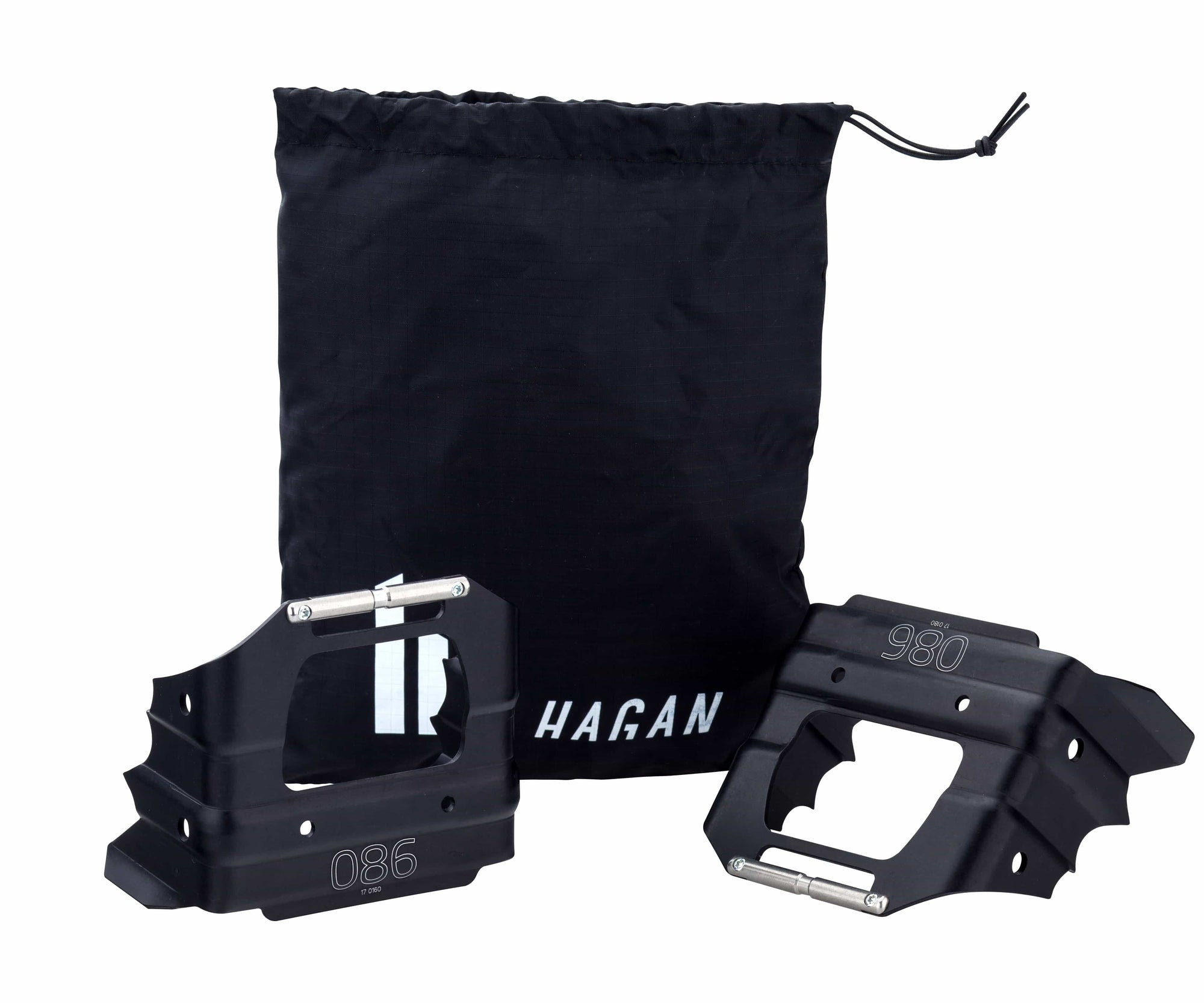 Crampons for Hagan Core 12, Pure 8 & 10 and Ultra Bindings, Bindings - Hagan Ski Mountaineering