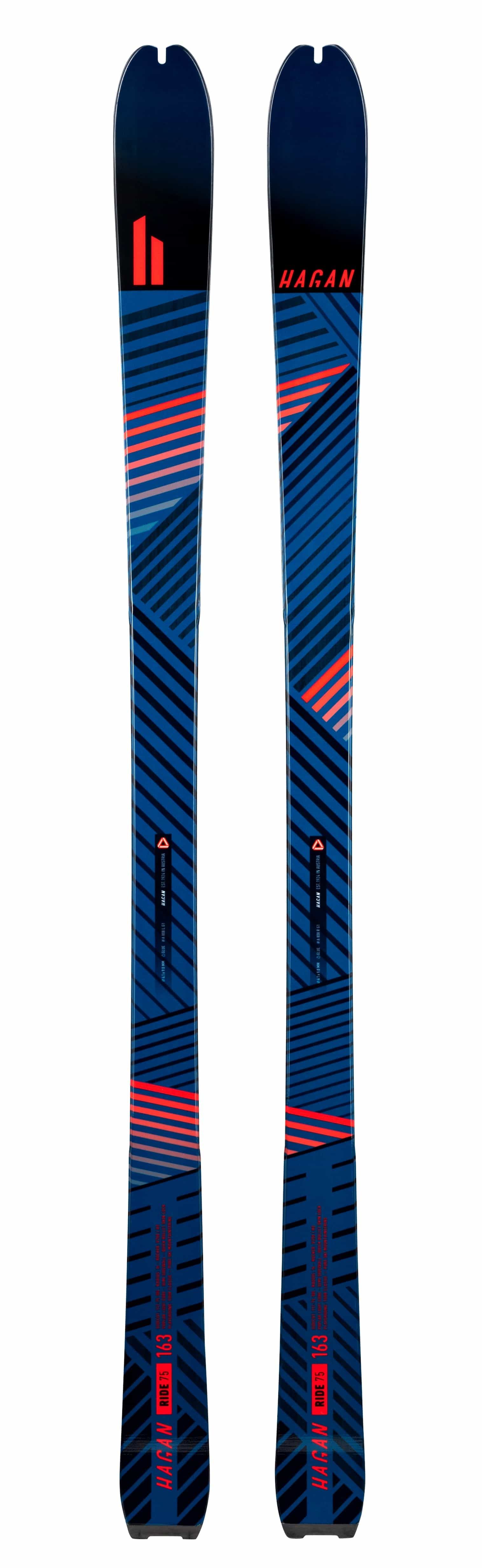 Ride 75 - On sale for $299.99, Skis - Hagan Ski Mountaineering Alpine Ski Touring Backcountry Gear