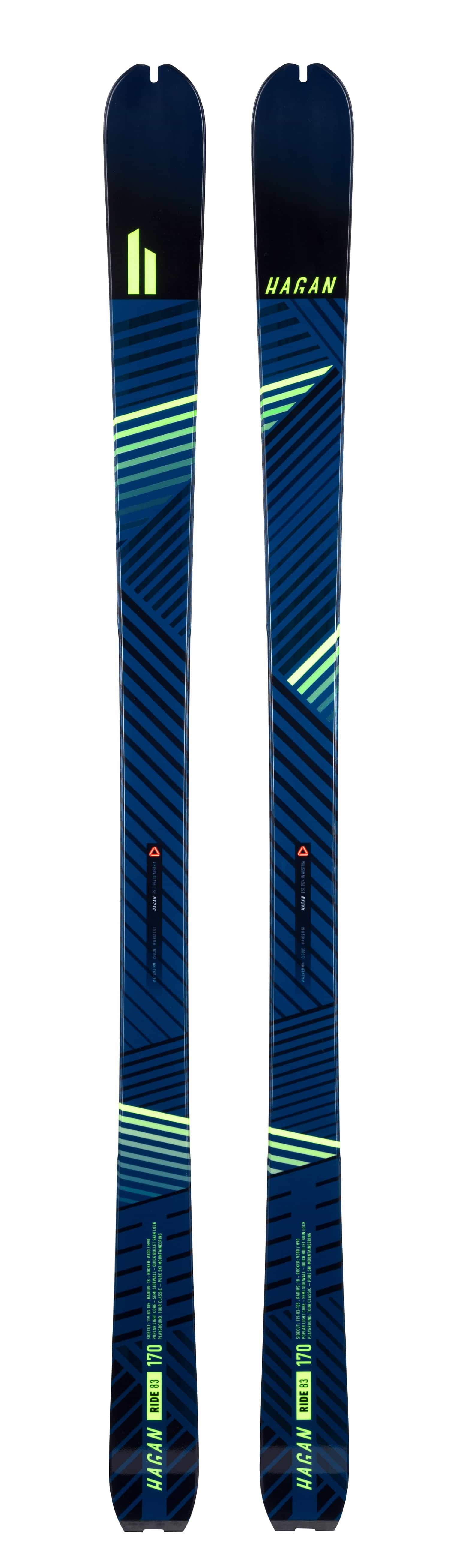 Ride 83 - $379.99 with discount, Skis - Hagan Ski Mountaineering Alpine Ski Touring Backcountry Gear