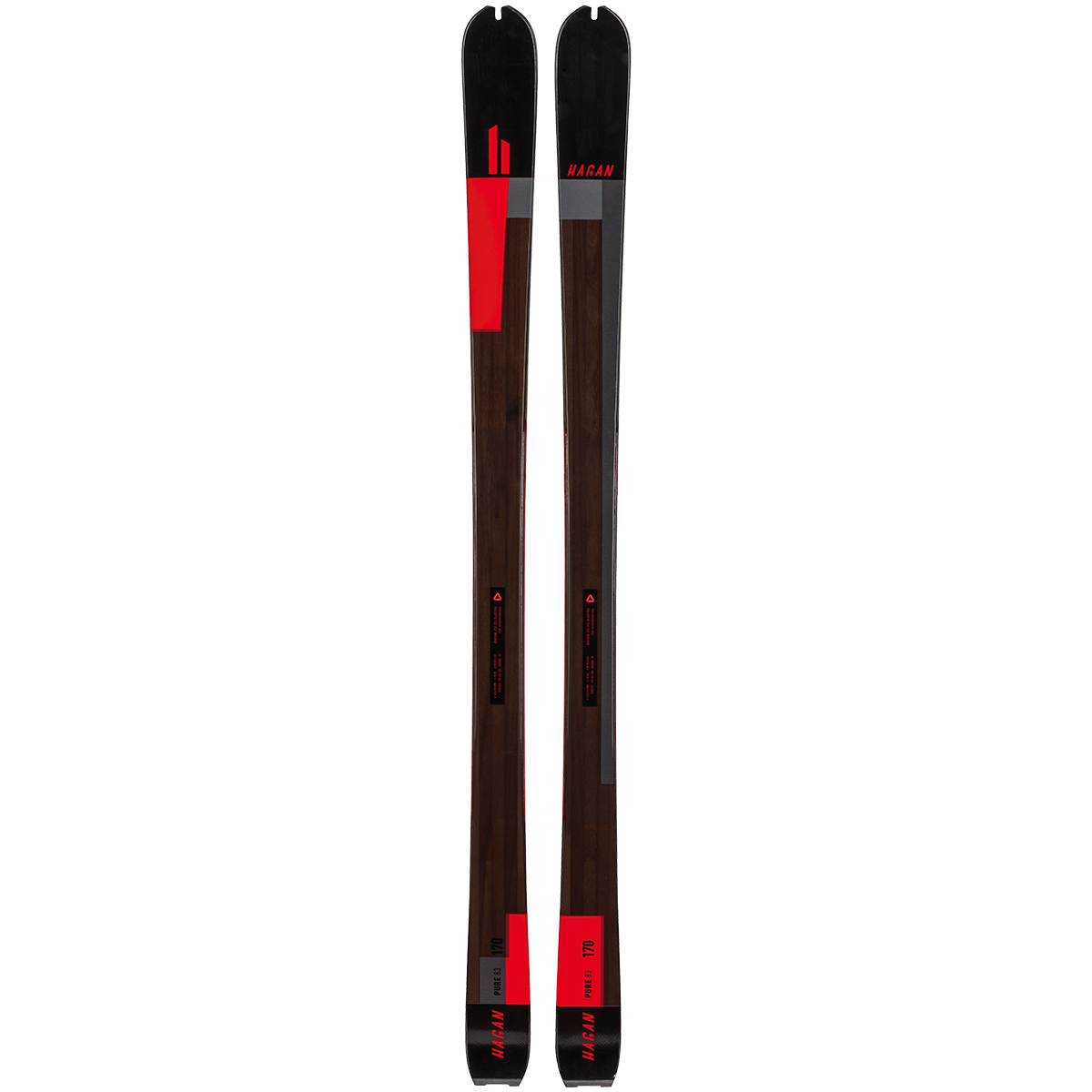Pure 83, Skis - Hagan Ski Mountaineering Alpine Ski Touring Backcountry Gear