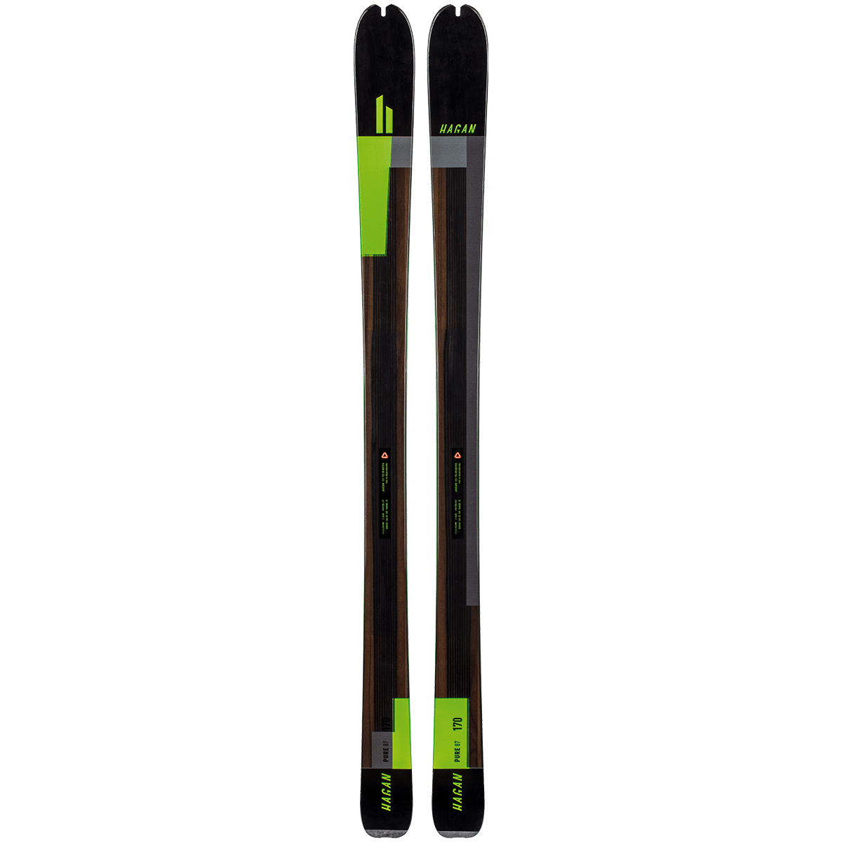 Hagan Ski Mountaineering Pure 87 classic all-mountain alpine ski touring ski - award winner