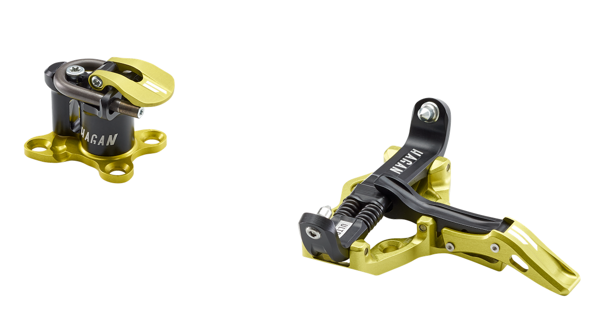 Hagan Ski Mountaineering Ultra World Cup Bindings for ski mountaineering racing with Rolling in System U Springs