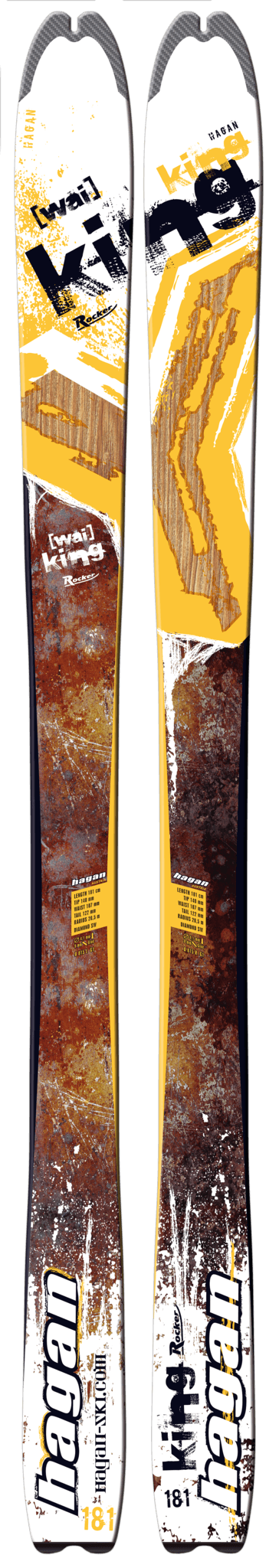 Y-King 2016, Skis - Hagan Ski Mountaineering