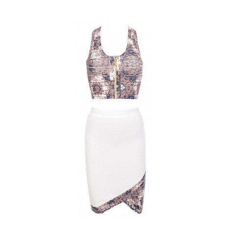 MAYA Printed 2 Piece Bandage Set