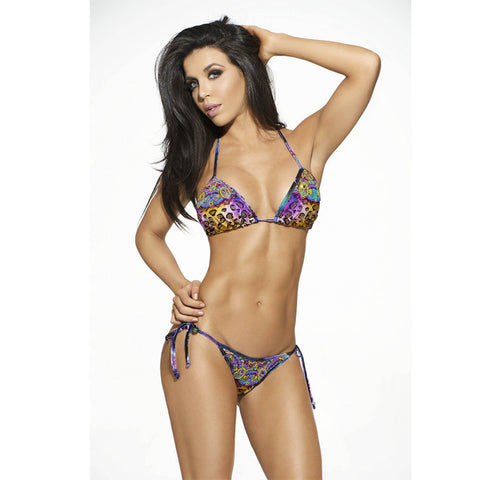 ART 2-Piece Cheetah Triangle Bikini