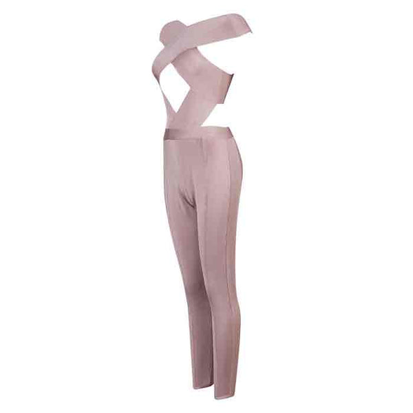 JOHANNA Cut Out Jumpsuit