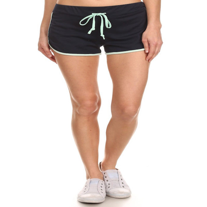 Draw String Jogger Shorts
