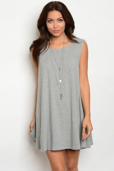LEXY Sleeveless Tunic Dress