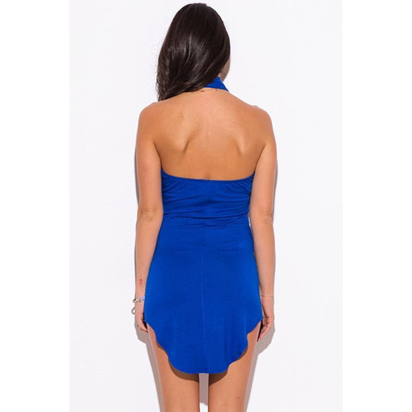 FADILAH High Neck Mini Dress