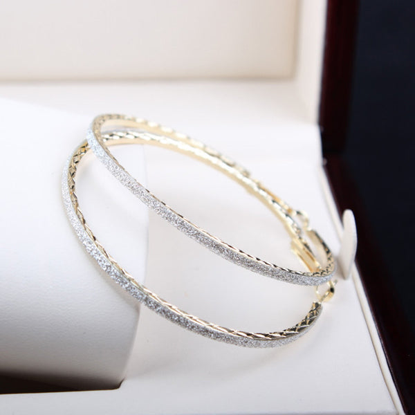Dazzle Hoop Earrings