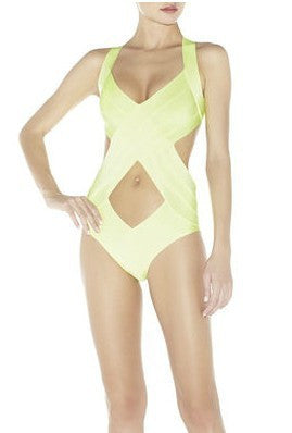 DALILA 1-Piece Cut Out Swimsuit