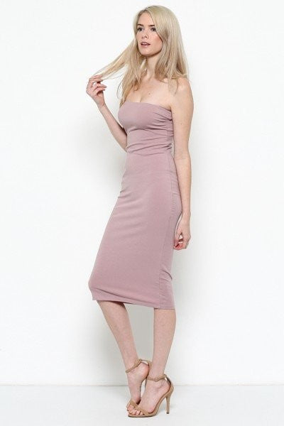 KIMMY Tube Midi Dress