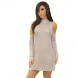 MELON Cut Out Sweater Dress