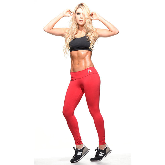 Classic Red Leggings