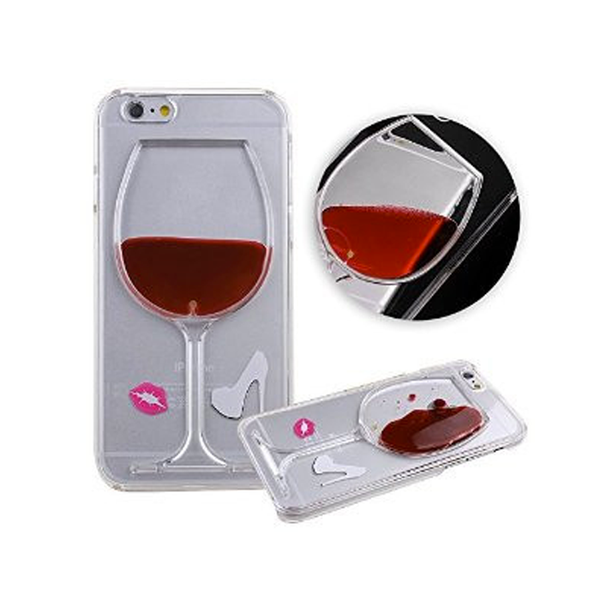 iPhone 6/6S/6Plus Red Wine Fashionista Cell Phone Case