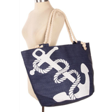 Anchor Away Oversized Beach Bag