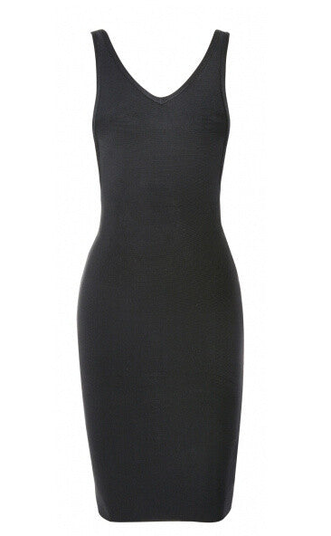 LIANNE Classic Black Bandage Cocktail Dress