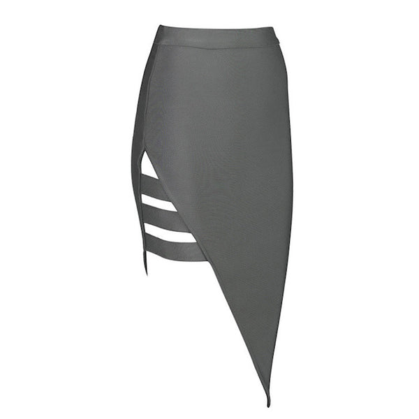 VICKY Cut Out Bandage Pencil Skirt