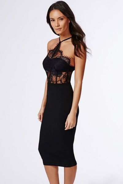 LANA Lace Top Cocktail Dress